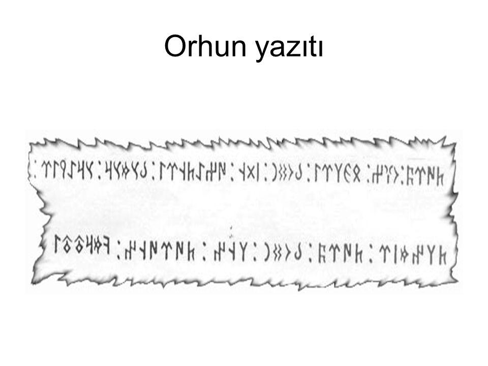 Orhun yazıtı