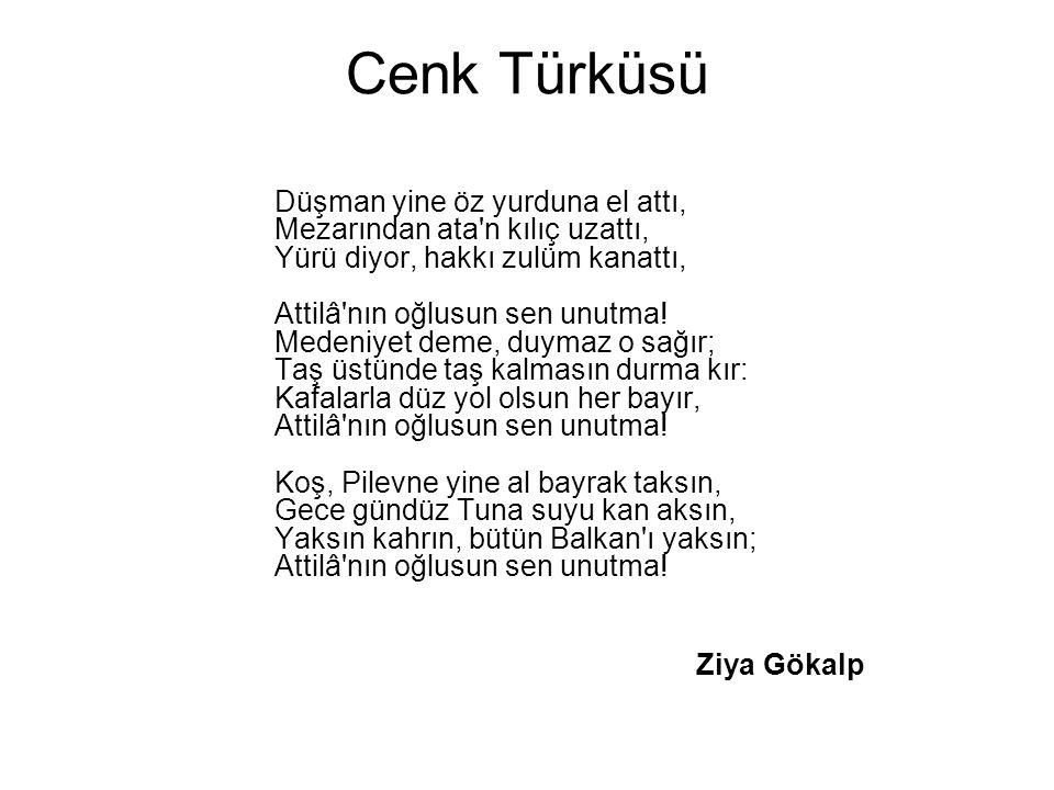 Cenk Türküsü
