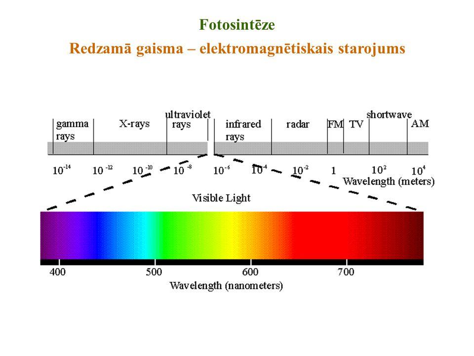 Redzamā gaisma – elektromagnētiskais starojums