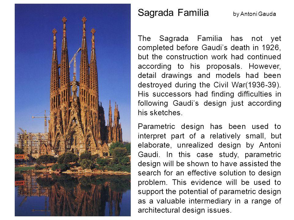 Sagrada Familia by Antoni Gauda