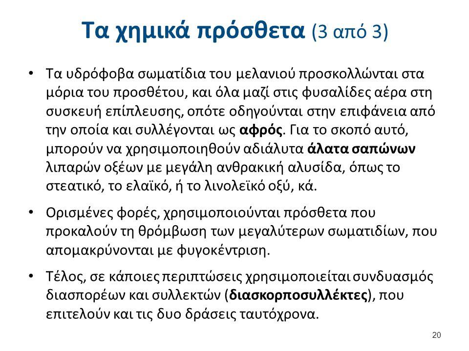 Προβλήματα στην απομελάνωση 1/5