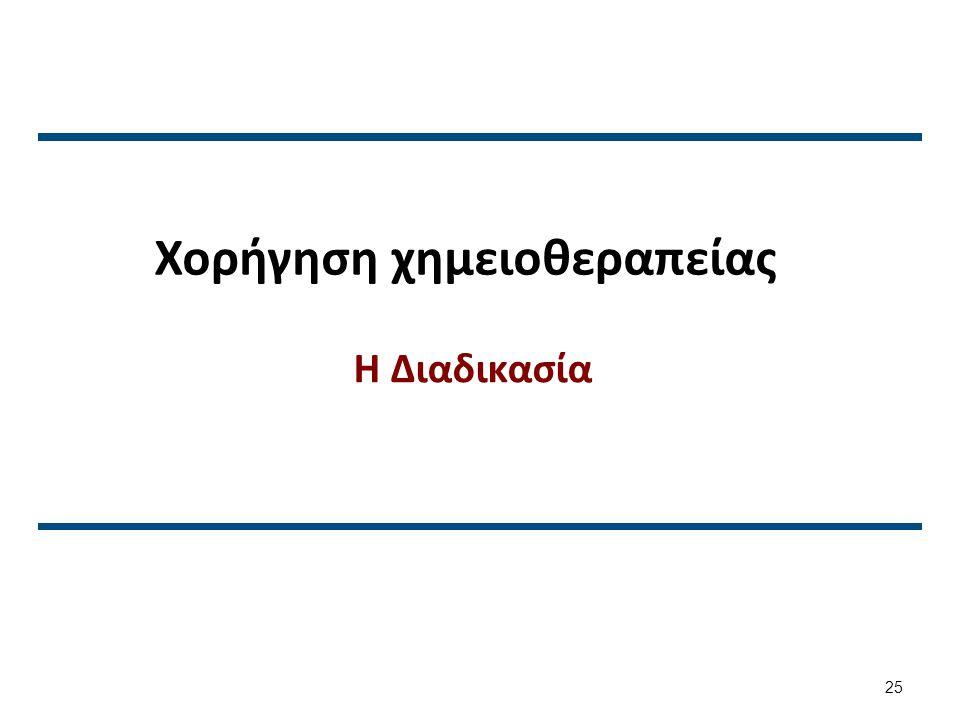 Χορήγηση χημειοθεραπείας (1 από 2)