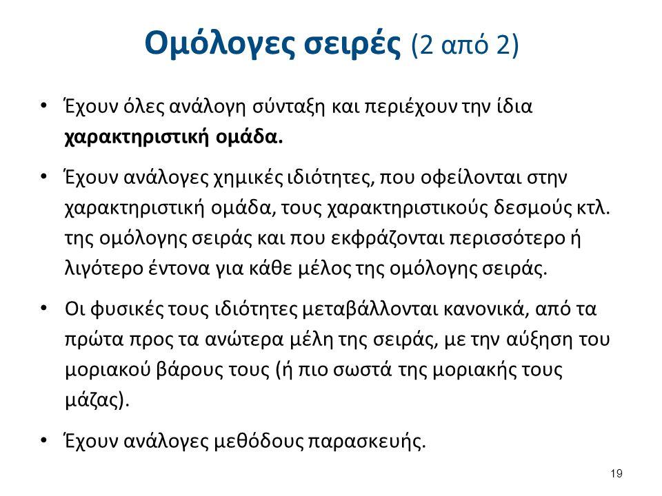 Παραδείγματα ομολόγων σειρών (1 από 2)