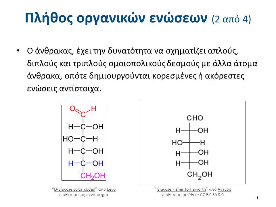 Πλήθος οργανικών ενώσεων (3 από 4)