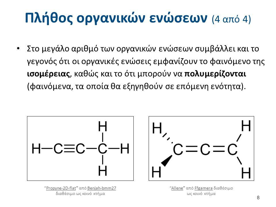 Κατάταξη των οργανικών ενώσεων (1 από 8)