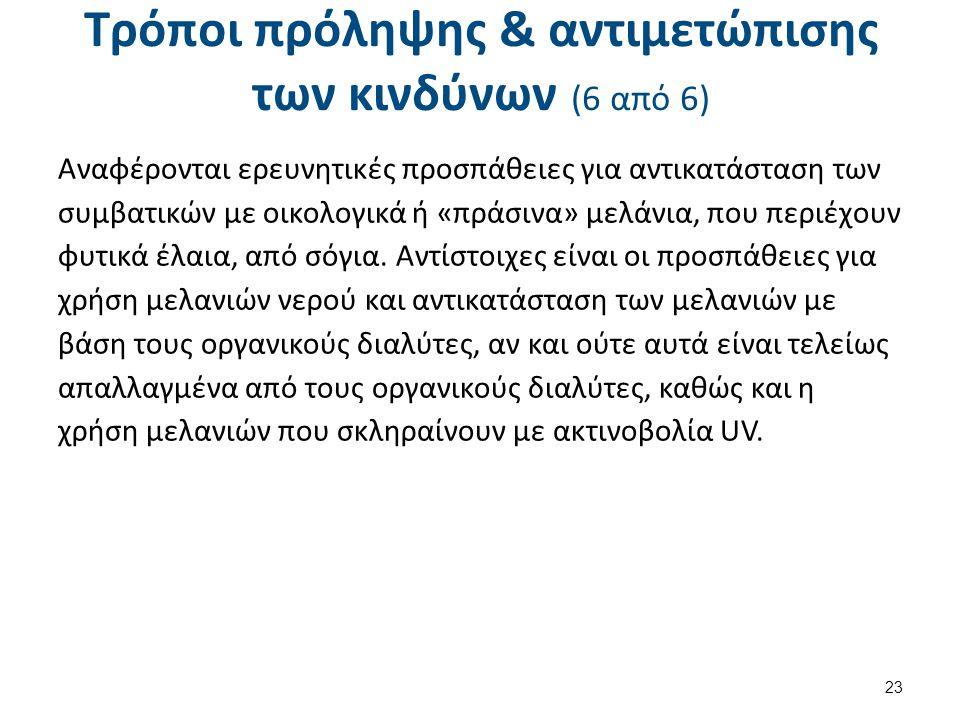 Βιβλιογραφία (1 από 2) Χημεία Γραφικών Τεχνών, Ν. Καρακασίδης, Εκδ. ΙΩΝ, 1994. Χημεία Εκτυπώσεων, Thompson, B, Εκδ. ΙΩΝ, 1998.