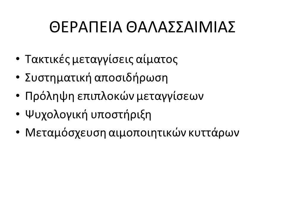 ΘΕΡΑΠΕΙΑ ΘΑΛΑΣΣΑΙΜΙΑΣ