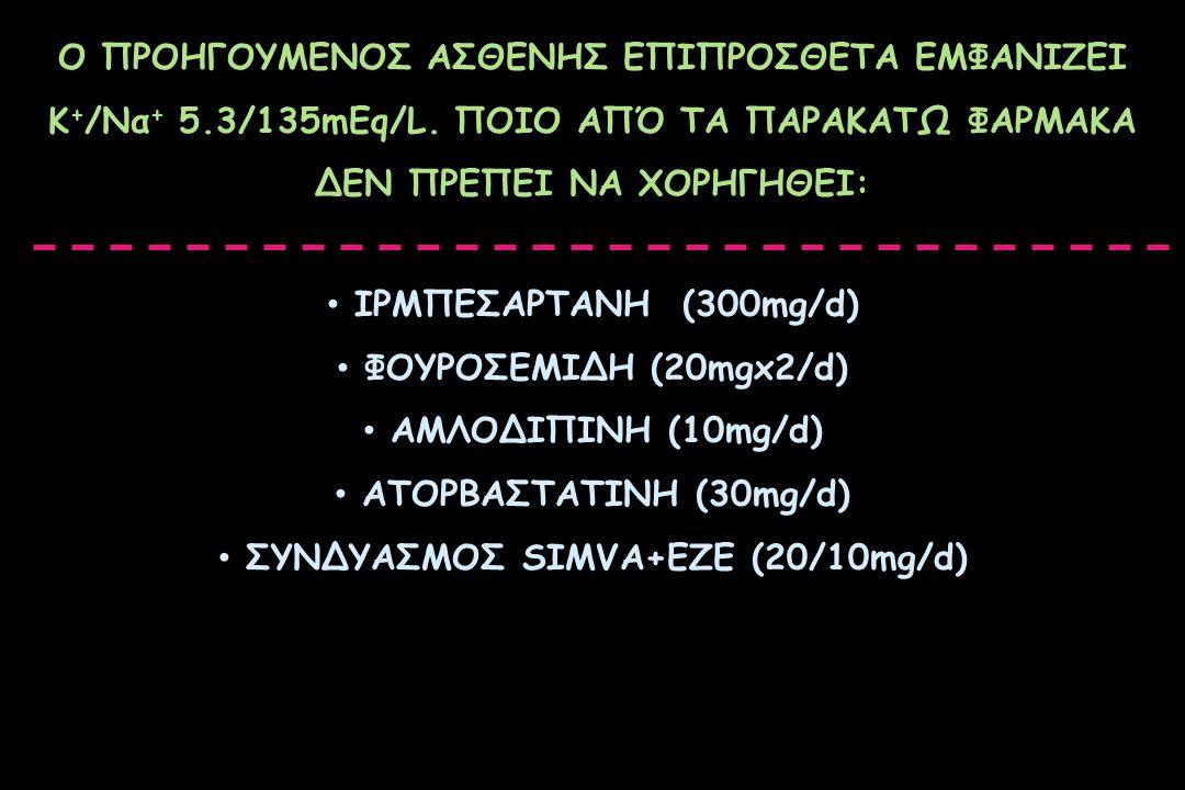 ΣΥΝΔΥΑΣΜΟΣ SIMVA+EZE (20/10mg/d)