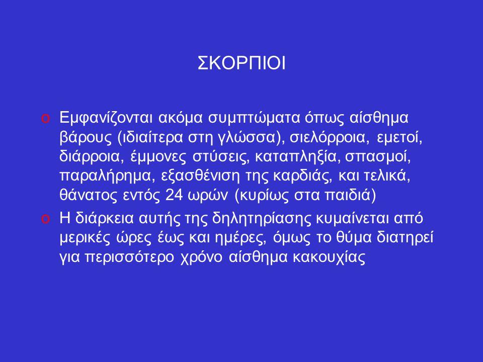 ΣΚΟΡΠΙΟΙ