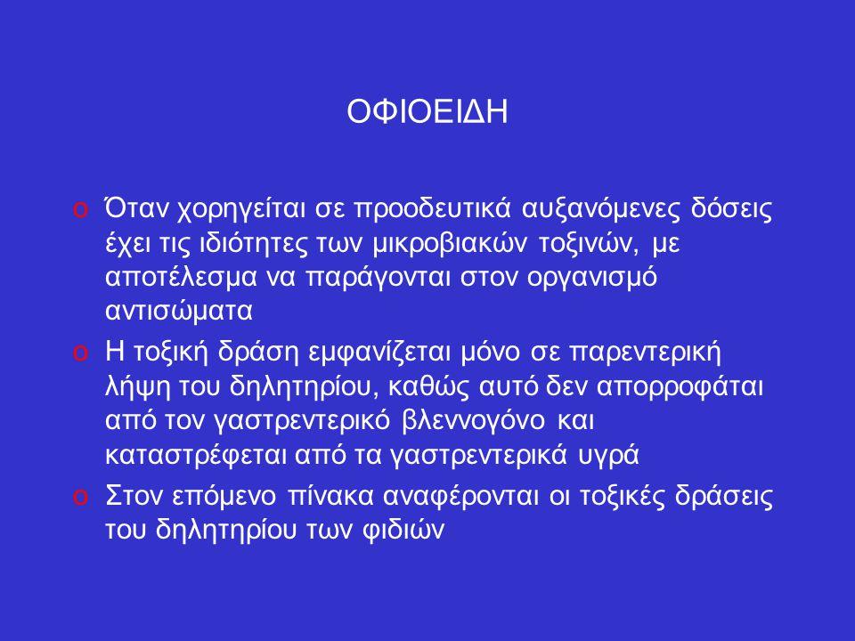 ΟΦΙΟΕΙΔΗ