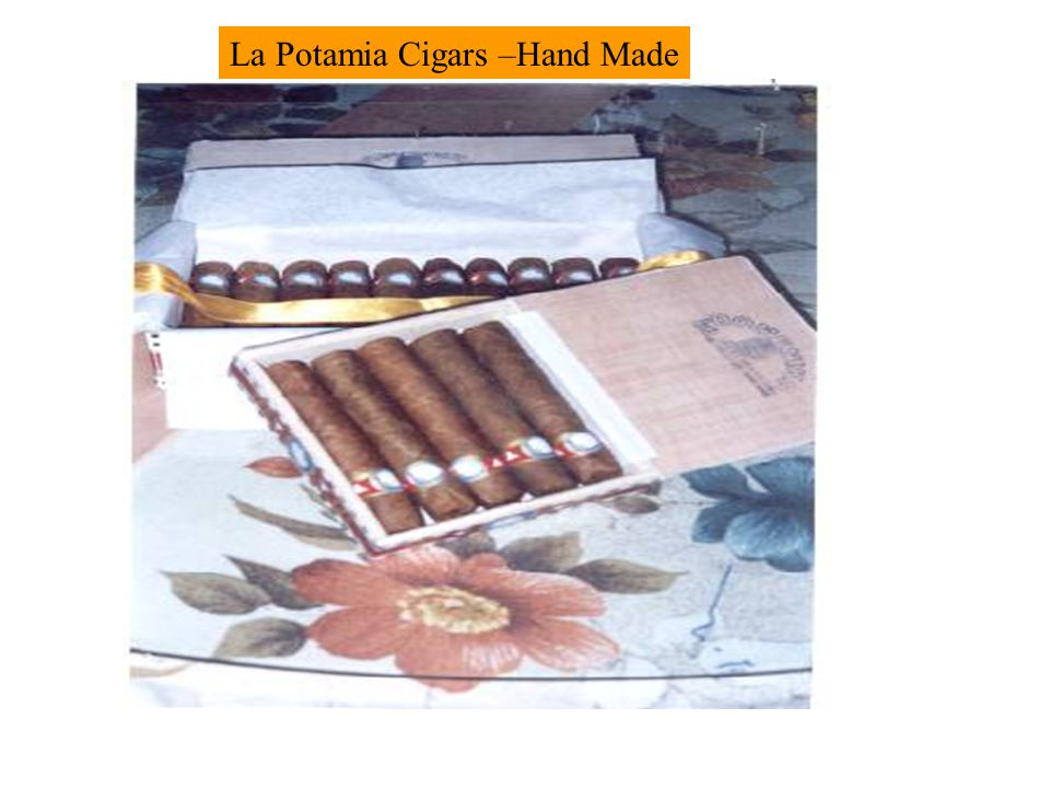 La Potamia Cigars –Hand Made
