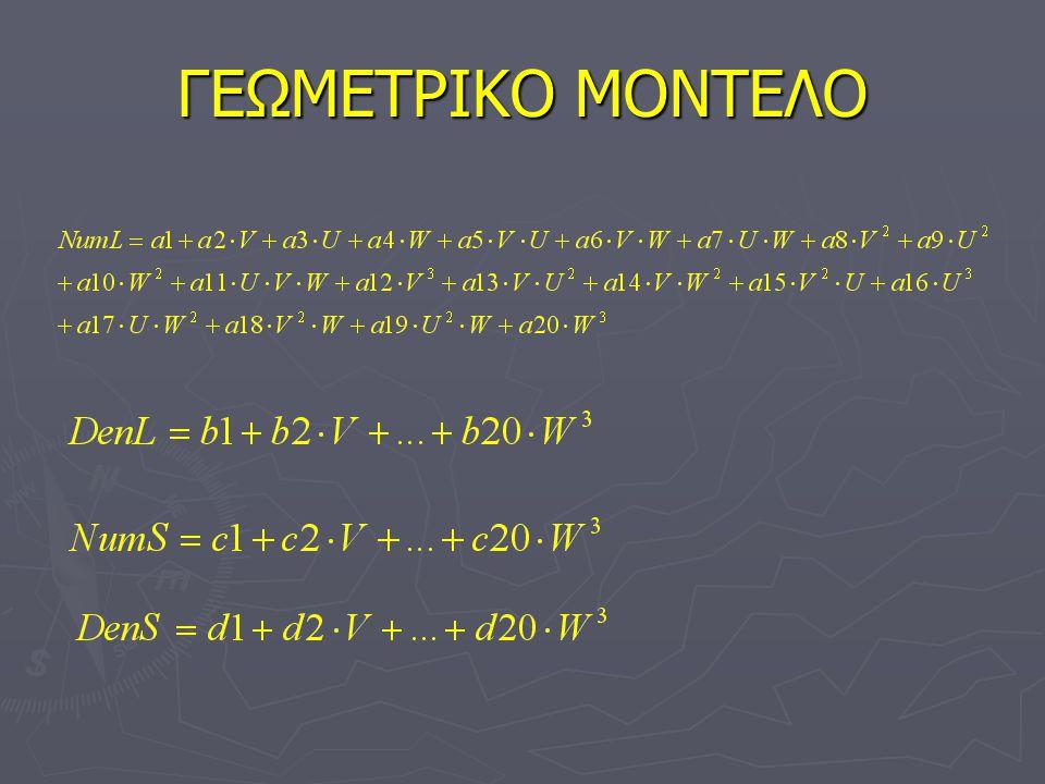 ΓΕΩΜΕΤΡΙΚΟ ΜΟΝΤΕΛΟ