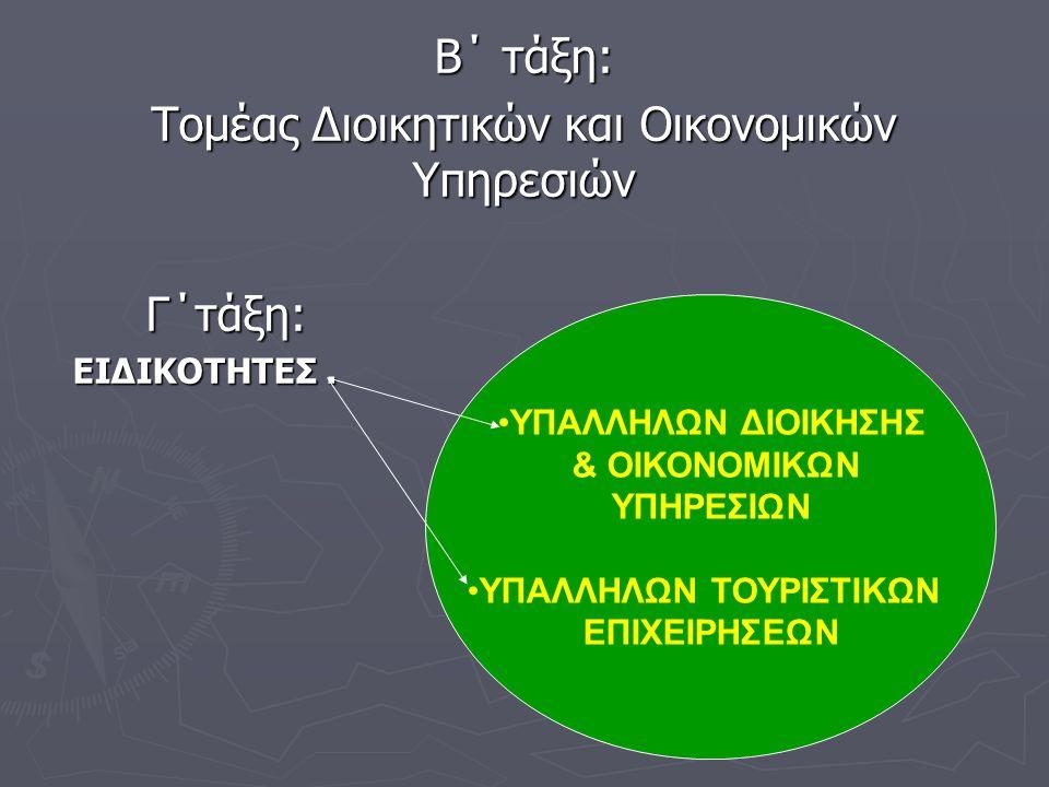 ΥΠΑΛΛΗΛΩΝ ΤΟΥΡΙΣΤΙΚΩΝ