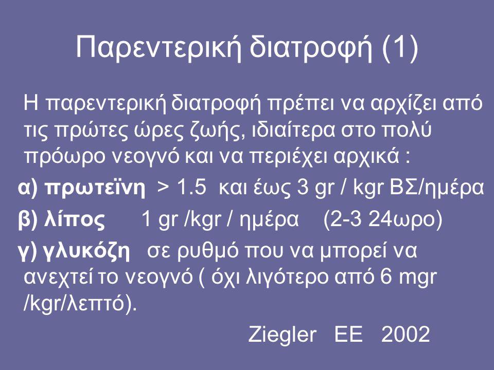Παρεντερική διατροφή (1)