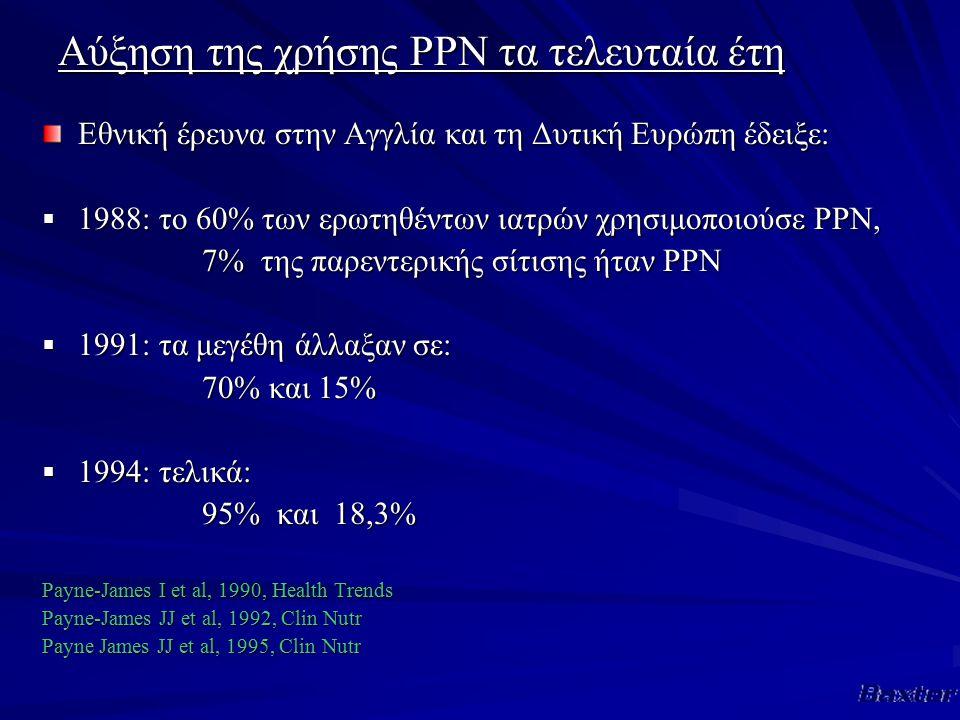 Αύξηση της χρήσης PPN τα τελευταία έτη