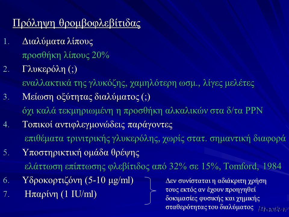 Πρόληψη θρομβοφλεβίτιδας