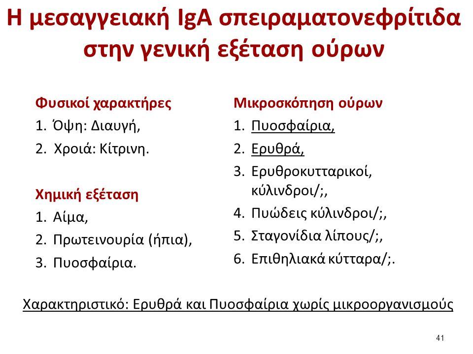 Νεφριτιδικό και νεφρωσικό σύνδρομο (1 από 2)