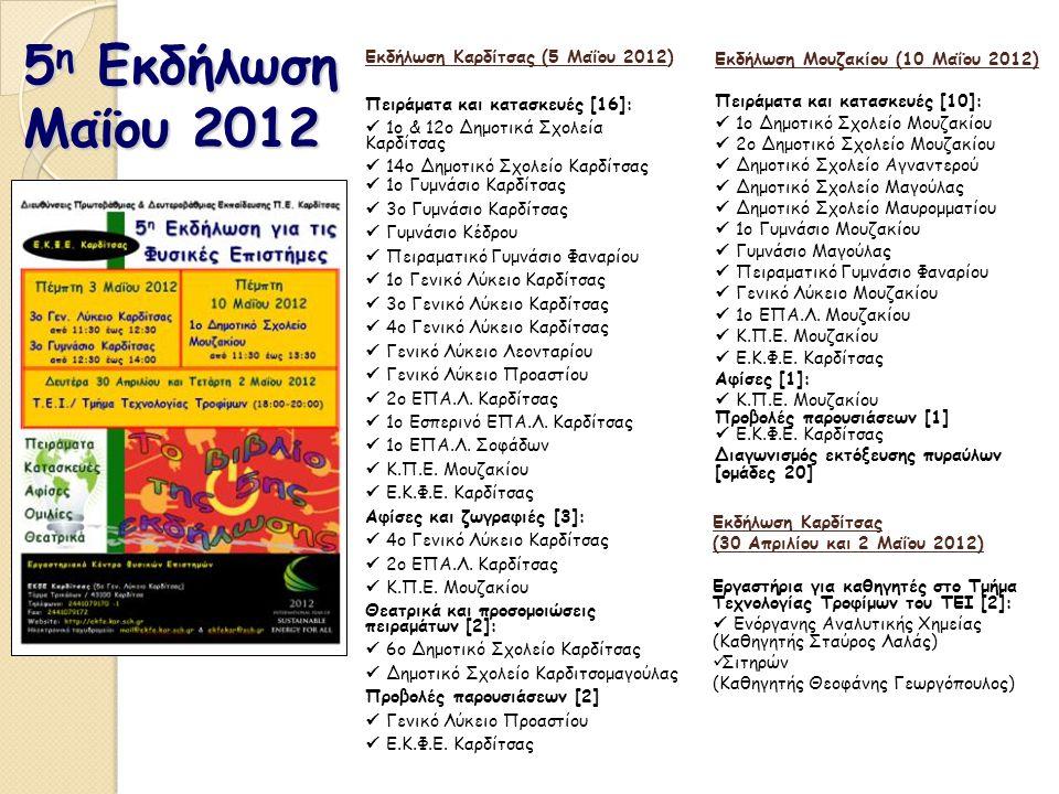 5η Εκδήλωση Μαΐου 2012 Εκδήλωση Καρδίτσας (5 Μαΐου 2012)