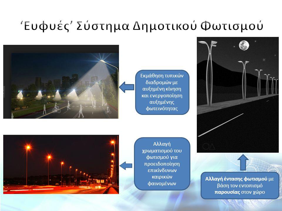 'Ευφυές' Σύστημα Δημοτικού Φωτισμού