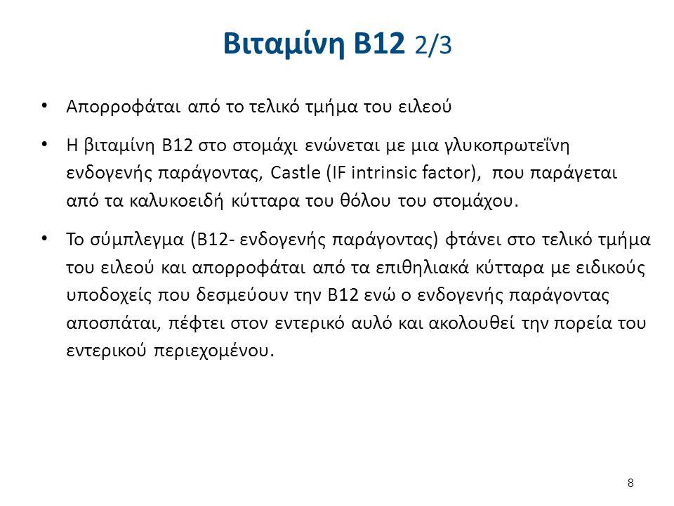 Βιταμίνη B12 3/3