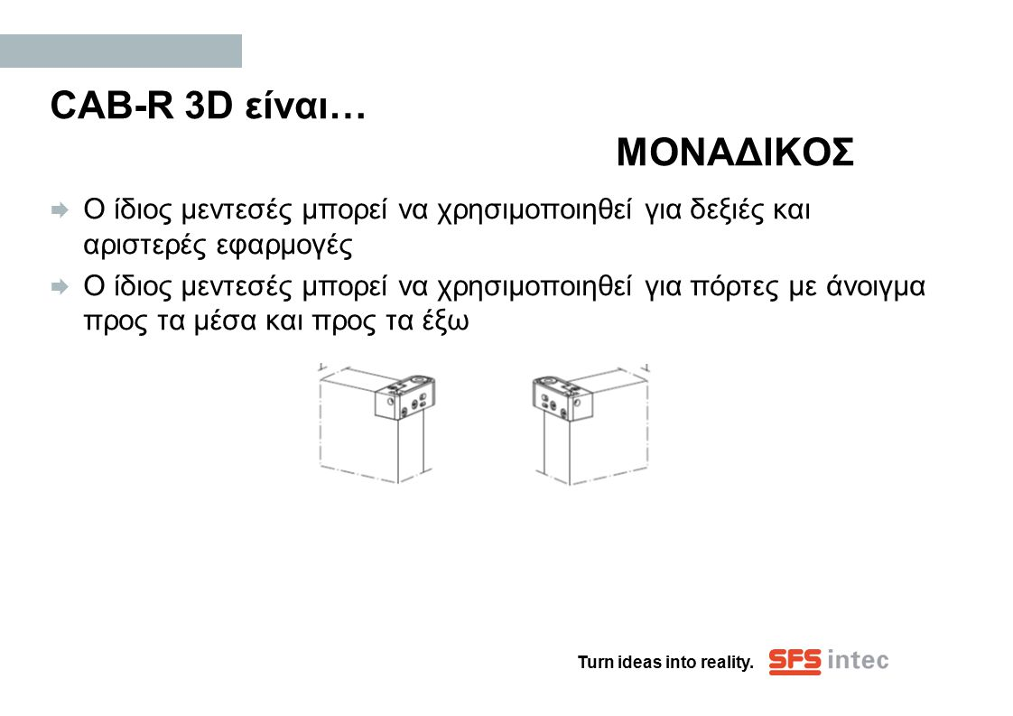 CAB-R 3D είναι… ΜΟΝΑΔΙΚΟΣ