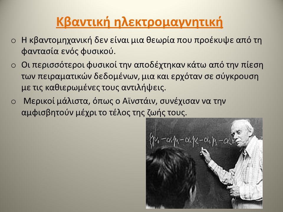 Κβαντική ηλεκτρομαγνητική