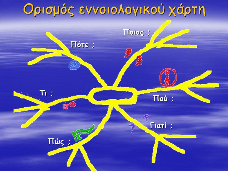 Ορισμός εννοιολογικού χάρτη