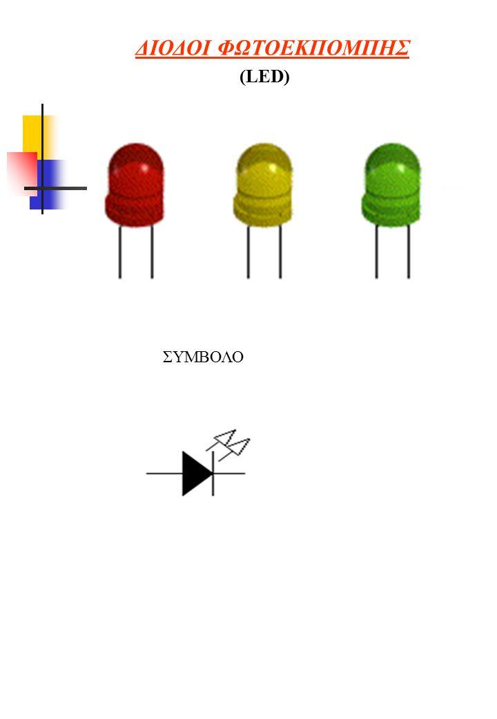 ΔΙΟΔΟΙ ΦΩΤΟΕΚΠΟΜΠΗΣ (LED) ΣΥΜΒΟΛΟ