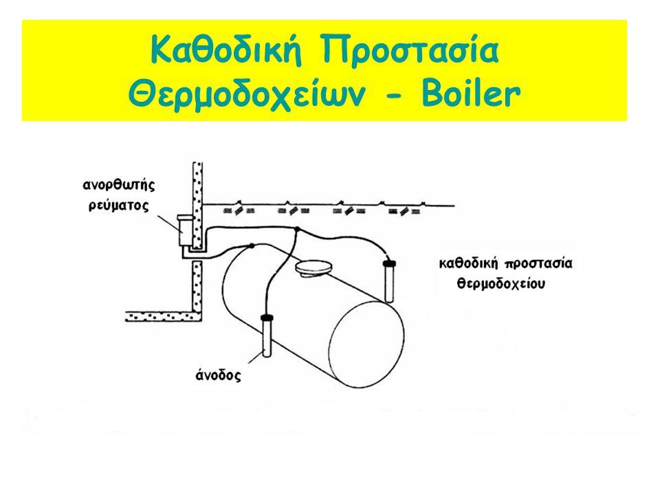 Καθοδική Προστασία Θερμοδοχείων - Boiler