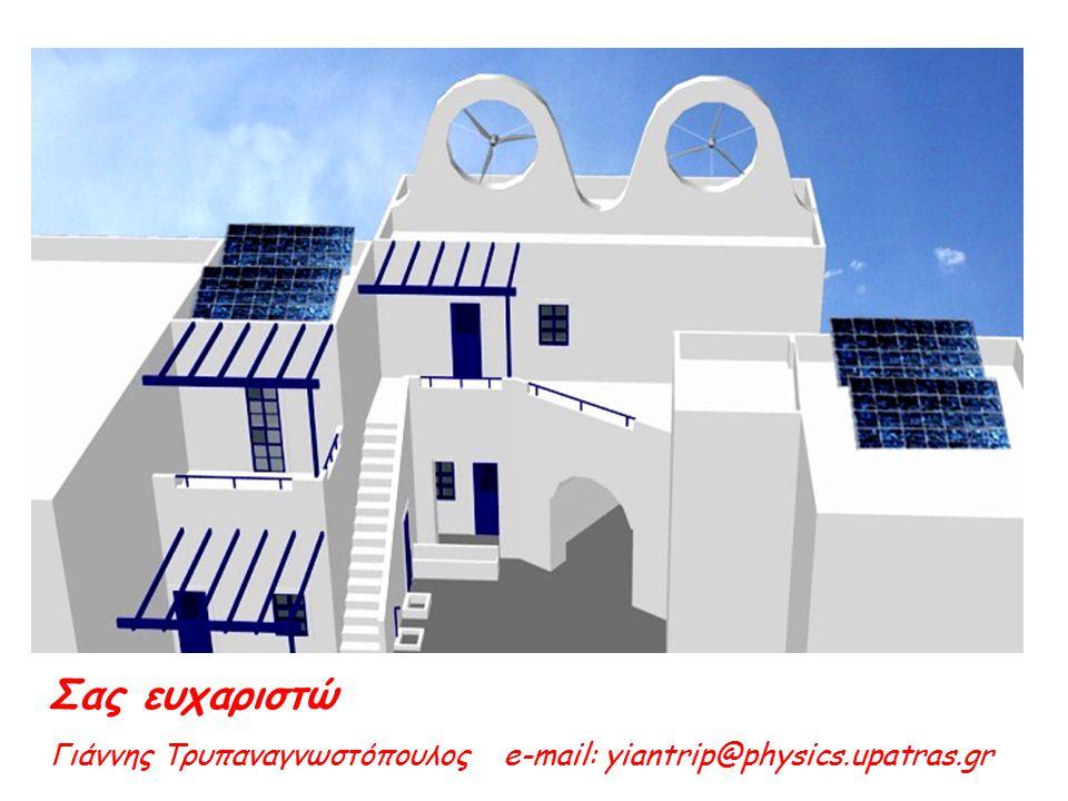 Σας ευχαριστώ Γιάννης Τρυπαναγνωστόπουλος e-mail: yiantrip@physics.upatras.gr