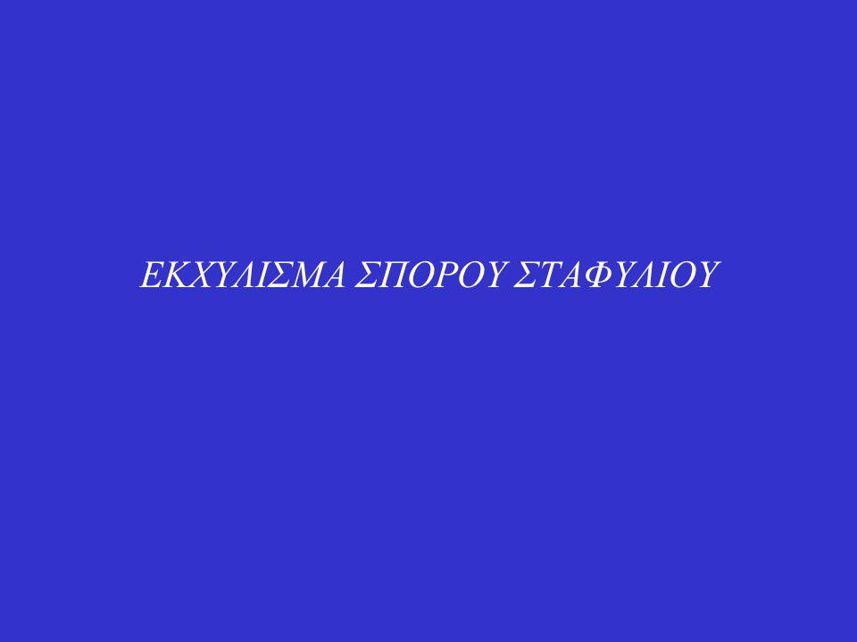 ΕΚΧΥΛΙΣΜΑ ΣΠΟΡΟΥ ΣΤΑΦΥΛΙΟΥ