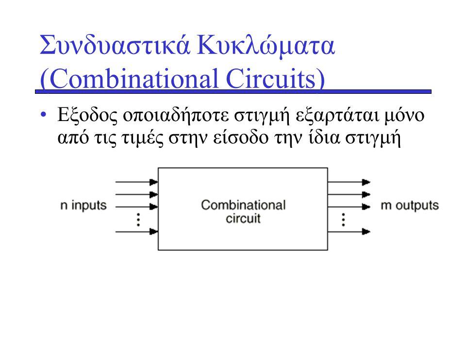 Συνδυαστικά Κυκλώματα (Combinational Circuits)