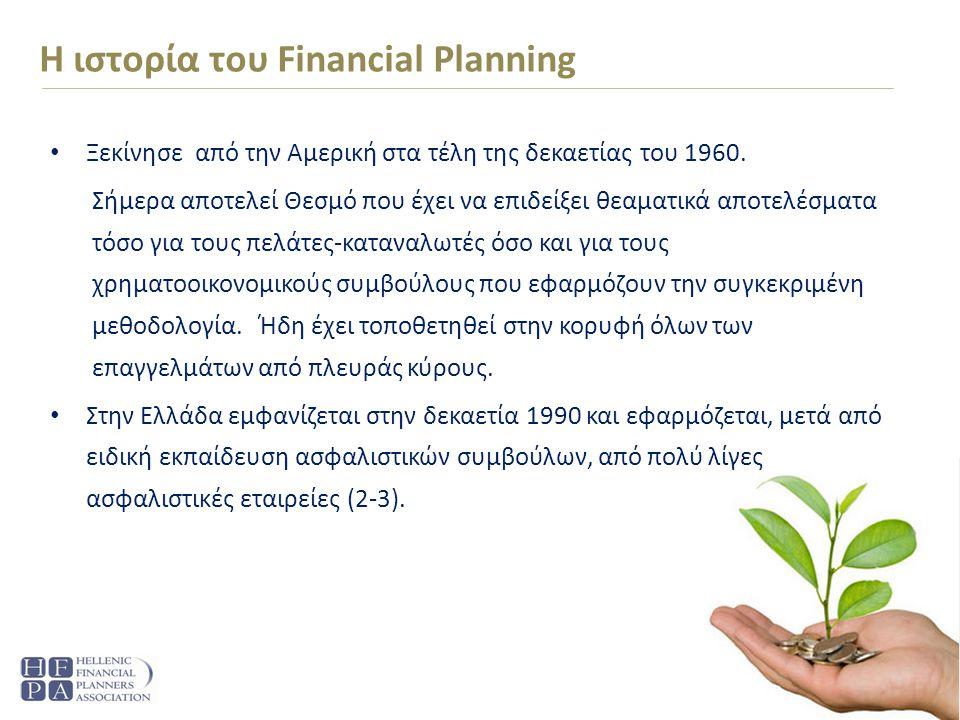 H ιστορία του Financial Planning