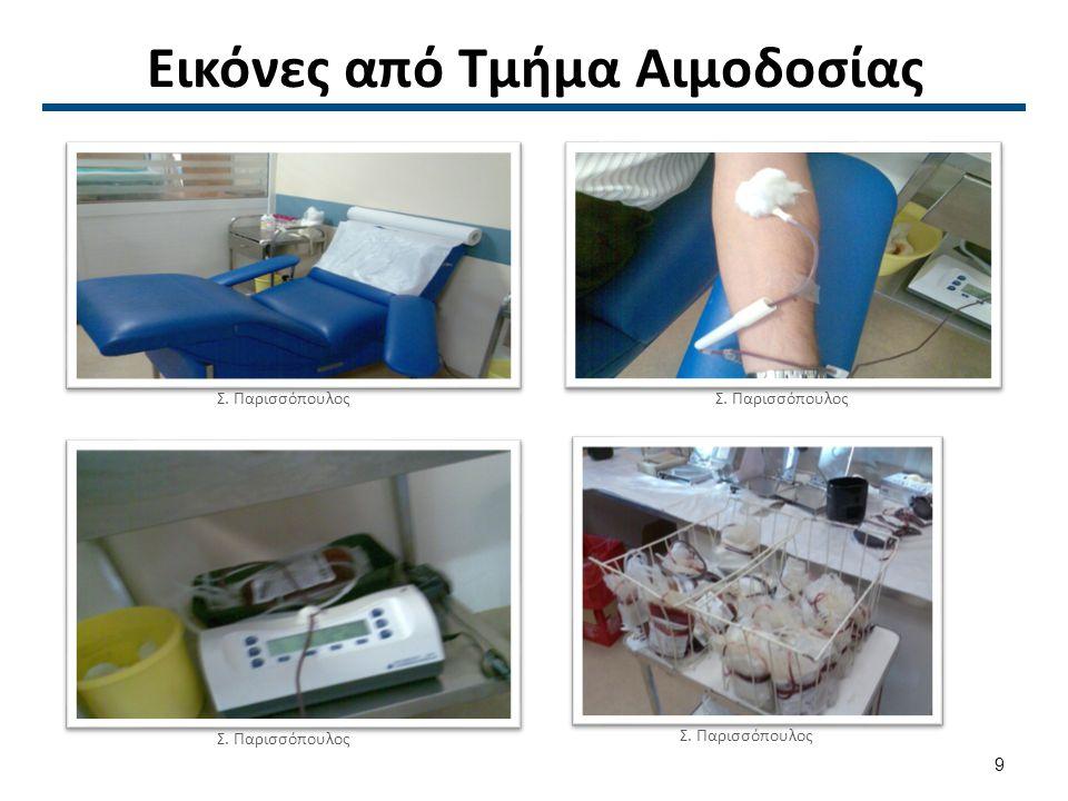 Μονάδα Αίματος Σ. Παρισσόπουλος