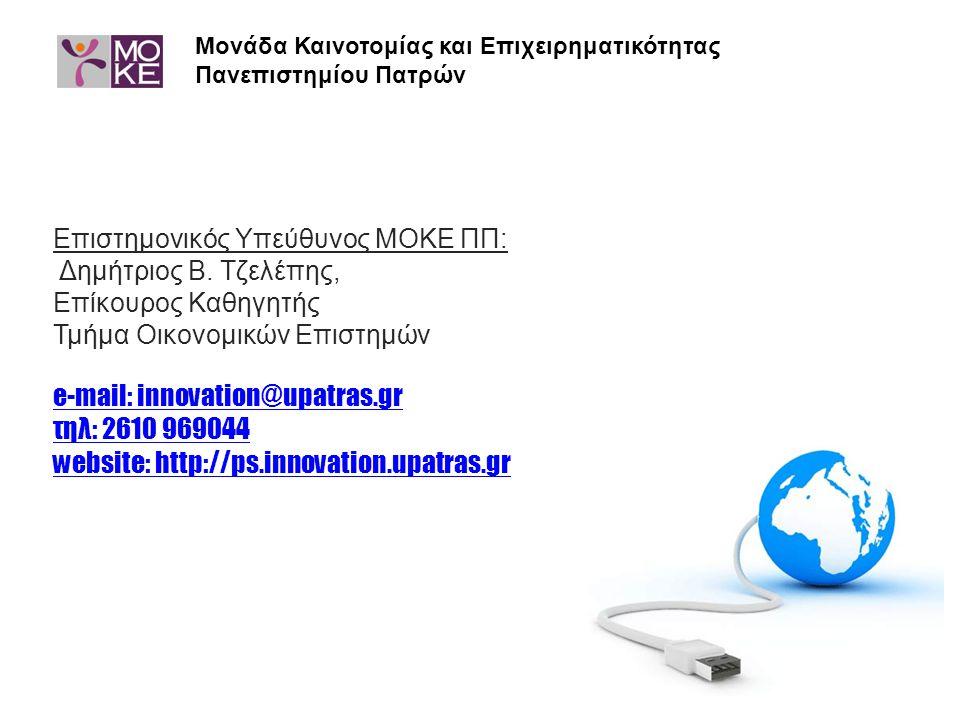 Μονάδα Καινοτομίας και Επιχειρηματικότητας