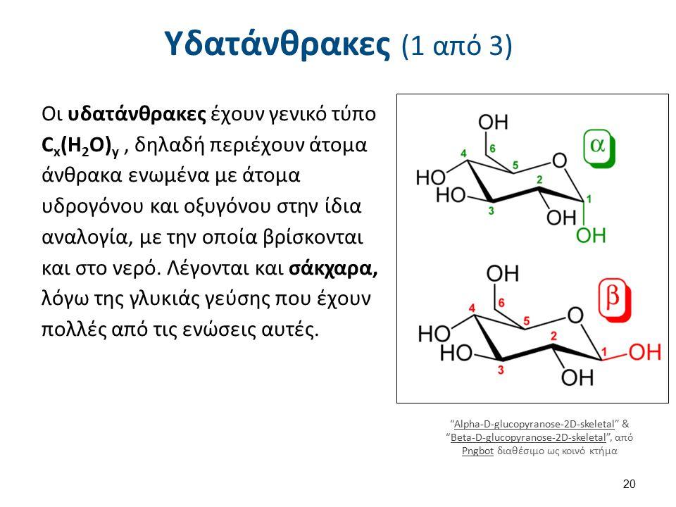Υδατάνθρακες (2 από 3)