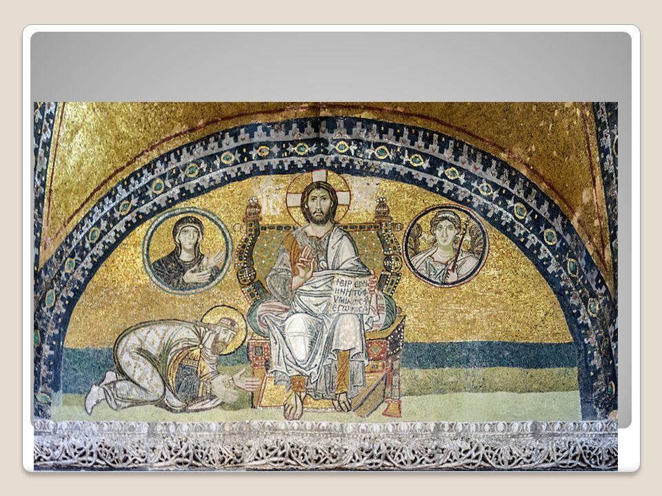 Λέων ΣΤ΄ ο Σοφός τιμά τον Χριστό (9ος αι.)