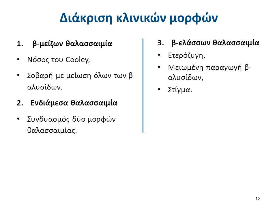 Μείζων β-Μεσογειακή αναιμία