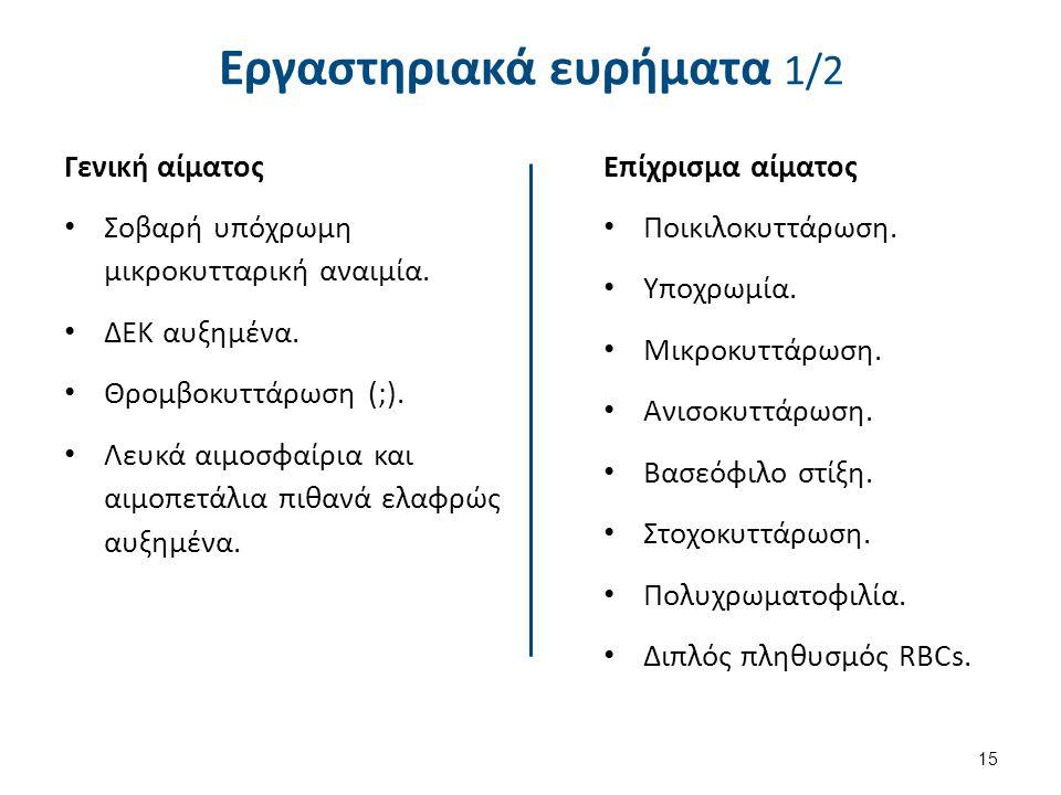 Εργαστηριακά ευρήματα 2/2