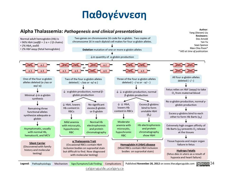 Στοιχεία κλειδιά α-θαλασσαιμίες