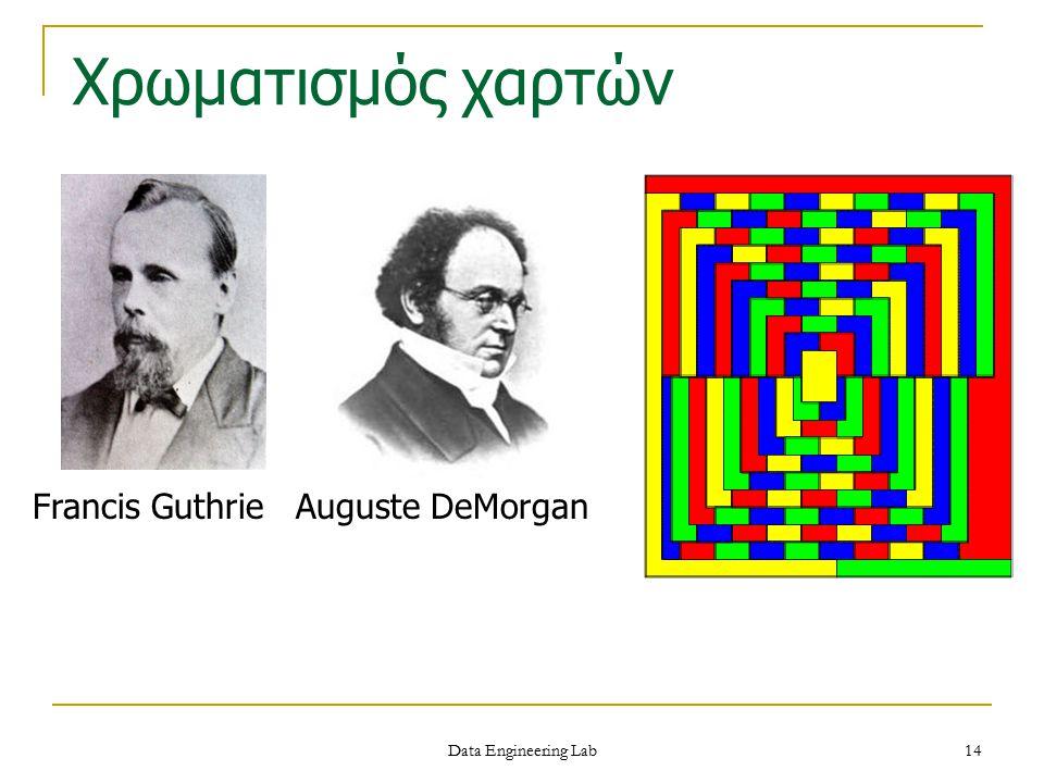 Χρωματισμός χαρτών Francis Guthrie Auguste DeMorgan