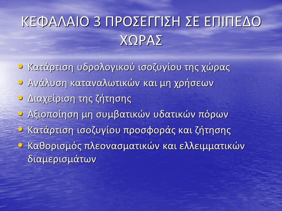 ΚΕΦΑΛΑΙΟ 3 ΠΡΟΣΕΓΓΙΣΗ ΣΕ ΕΠΙΠΕΔΟ ΧΩΡΑΣ