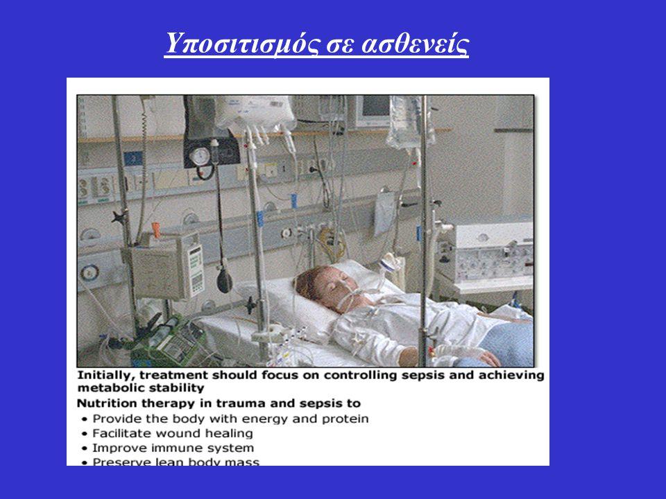 Υποσιτισμός σε ασθενείς
