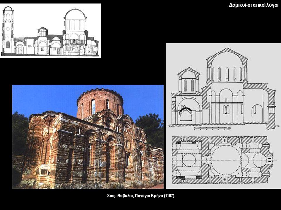 Χίος, Βαβύλοι, Παναγία Κρήνα (1197)