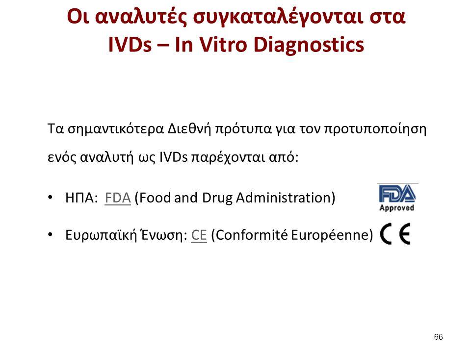 Διεθνείς και Ελληνικές ενώσεις για IVDs