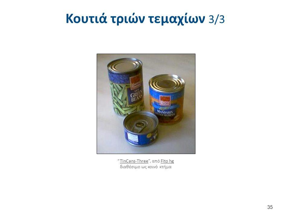 Κουτιά δυο τεμαχίων (Two – piece cans)