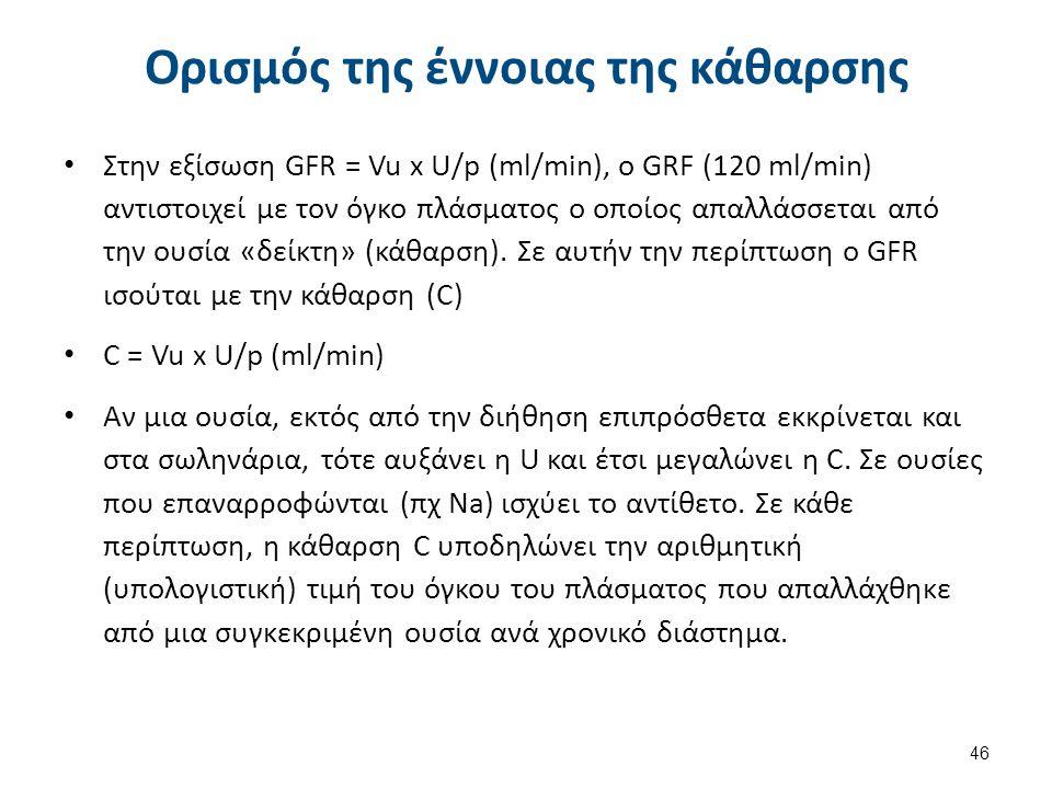 Η κάθαρση του παρααμινοϊππουρικού (PAH, paraaminohippuric acid) είναι μέτρο της RPF