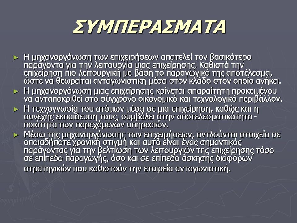 ΣΥΜΠΕΡΑΣΜΑΤΑ