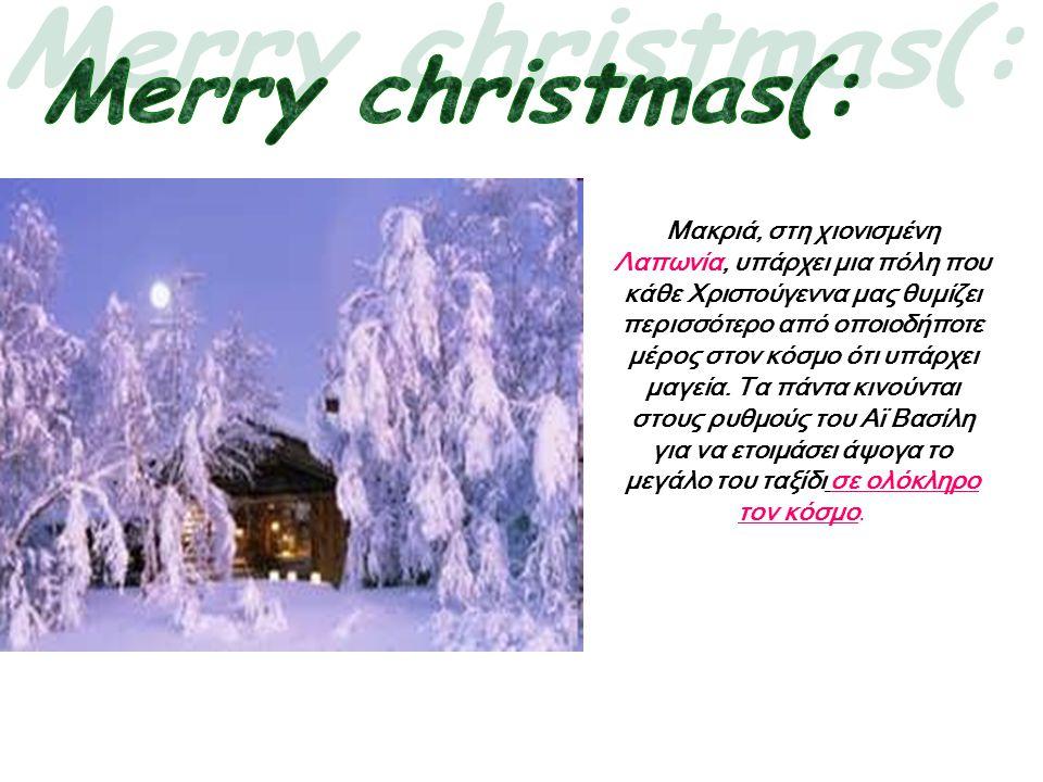 Merry christmas(: