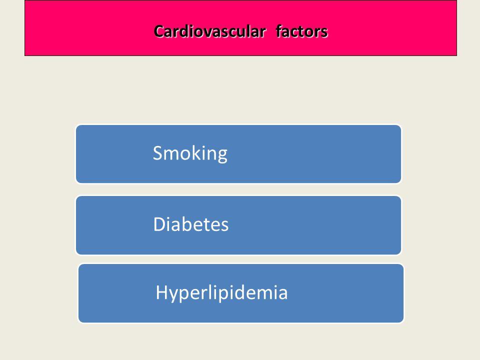 Cardiovascular factors